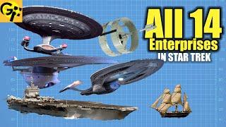 Download All 14 Enterprises in Star Trek Explained Video