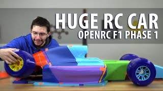 Download Worlds Largest OpenRC F1 Car - Phase 1 // 3D Printing the Parts (Matterhackers BUILD PLA / Pro Flex) Video