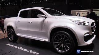 Download 2018 Mercedes Benz X Class Concept - Exterior Walkaround - Debut 2017 Geneva Motor Show Video