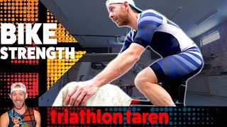 Download TRIATHLON BIKE TRAINING so your legs DON'T LOSE STRENGTH built during the offseason Video