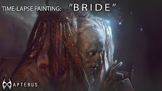 Download Speed painting: ''BRIDE'' Video