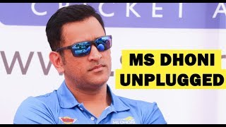 Download 'Captain Cool' MS Dhoni reveals secret behind his coolness on cricket field Video