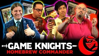 Download Homebrew Commander w/ The Professor and Wedge l Game Knights #18 l Magic the Gathering Gameplay Video