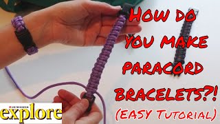 Download How to Make an Easy Paracord Survival Bracelet with Buckles Cobra Knot Tutorial | LIVE THE ADVENTURE Video