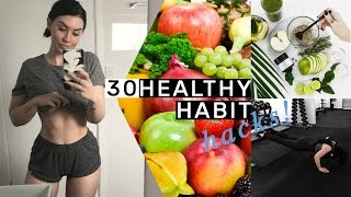 Download 30 Healthy Habit Hacks You Need To Know! Video