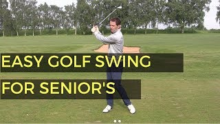 Download EASIEST SWING IN GOLF FOR SENIOR GOLFERS Video