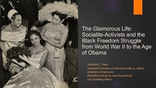 Download Socialite-Activists and the Black Freedom Struggle | Tanisha C. Ford || Radcliffe Institute Video