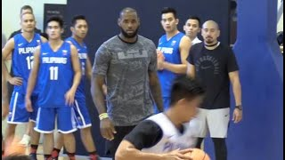 Download LeBron James trains Gilas Pilipinas Video
