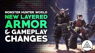 Download Monster Hunter World | | New FREE Layered Armor & Gameplay Changes Video