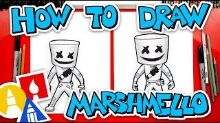 Download How To Draw Fortnite Marshmello Skin Video