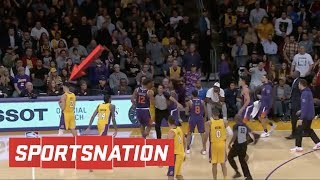 Download SportsNation reacts to Lonzo Ball walking away from fight | SportsNation | ESPN Video