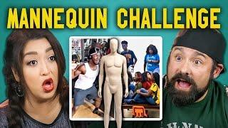 Download ADULTS REACT TO MANNEQUIN CHALLENGE COMPILATION #mannequinchallenge Video