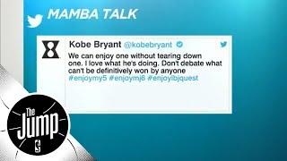 Download Did Kobe Bryant shut down Michael Jordan vs. LeBron James debate with tweet? | The Jump | ESPN Video