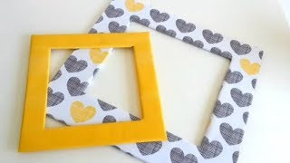 Download How to make a photo frame with cardboard Video