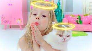 Download Настя и истории про кошечку Video