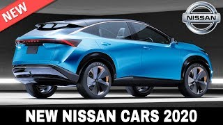 Download 10 New Nissan Cars and Crossovers Bringing Updated Japanese Technology in 2020 Video