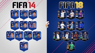 Download Team Of The Year ⚽ FIFA 14 - FIFA 18 Ultimate Team ⚽ Footchampion Video