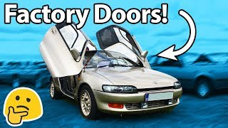 Download 7 Weird Door Configurations On Non Supercars!! 🚗 Video