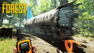 Download SURVIVE A PLANE CRASH!! (The Forest) Video