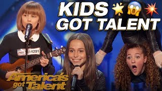 Download Grace VanderWaal, Sofie Dossi, And The Most Talented Kids! Wow! - America's Got Talent Video