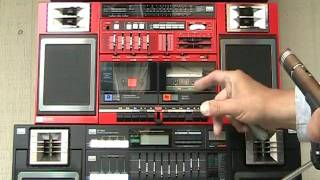 Download Sansui CP-55W CP-77W CP-99W for sale Boombox CP 55 77 99 Sold cp-7 cp 7 Lasonic Video