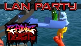 Download Stunt Wheel Fight - Gang Beasts - LAN Party Video