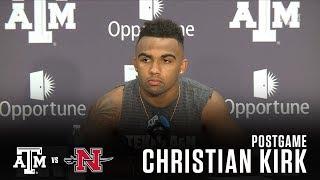 Download Nicholls Postgame   Christian Kirk 9.9.17 Video