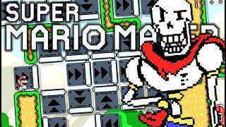 Download PAPYRUS ULTIMATE PUZZLING PUZZLE!! Super Mario Maker 0.0% Course Submissions Video
