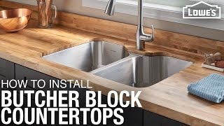 Download How To Install Butcher Block Countertops | DIY Kitchen Remodel Video
