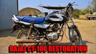 Download Bajaj CT 100 Restoration - Part 1 Disassembly Video