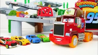 Download Let's Learn Colors with Tomica Mountain Drive Playset and Toy Cars! Video