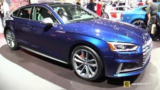 Download 2017 Audi S5 Sportback - Exterior and Interior Walkaround - 2017 New York Auto Show Video