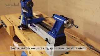 Download Mini tour à bois Jean l'ébéniste MC0430VD pour tous les travaux de tournage Video