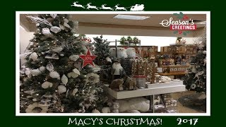 Download Christmas Decor Shopping At Macy's! 2017 Video