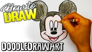 Download Drawing: How To Draw Mickey Mouse Step by Step! For kids! Video