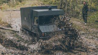 Download Непроходимый брод, оставили машину в лесу, пробуем PINZGAUER6x6 Video