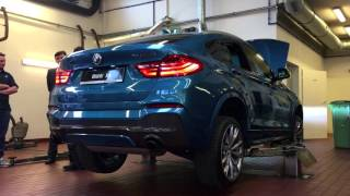 Download BMW X4 M40i - revving up and walk around Video