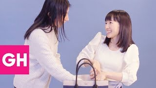 Download Marie Kondo Shows How to Organize a Purse | GH Video