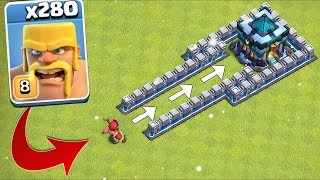 Download 280 x Troops ATTACK the TH13!!! ″Clash Of Clans″ NEW UPDATE!! Video