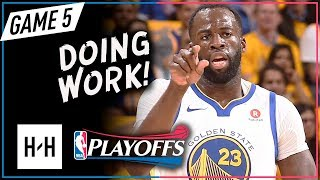Download Draymond Green Full Game 5 Highlights vs Pelicans 2018 Playoffs WCSF - 19 Pts, 14 Reb, 9 Assists! Video