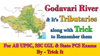 Download Godavari River and It's Tributaries with Trick to Remember them Video