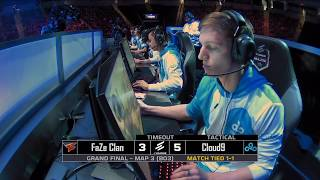 Download Cloud9 vs FaZe at ELEAGUE Major 2018 Grand Finals Map 3 Video