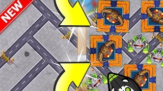 bloons tower defense battles super monkey