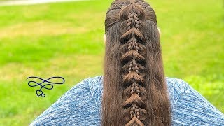 Download Half Up Combo Pull Through Braid Video