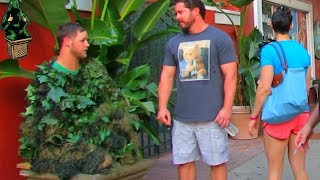 Download BUSHMAN SCARE PRANK ANGRY GUY Video