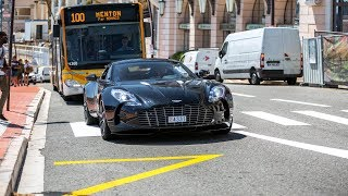 Download Supercars in Monaco 2018 - VOL. 8 (ONE-77, Gemballa 650S, Huracan Performante, 911R) Video