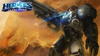 Download Raynor - The top sustained ranged dps?! // Heroes of the Storm Video