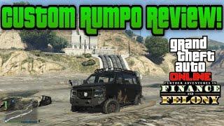 Download Gta 5 Online: Custom Rumpo Review! - (FINANCE & FELONY DLC!) Video