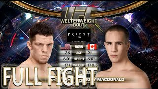 Download Rory Macdonald vs Nate Diaz UFC 129 FULL FIGHT - UFC Fight Night Video