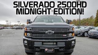 Download 2017 Chevy Silverado 2500HD Midnight Edition Video